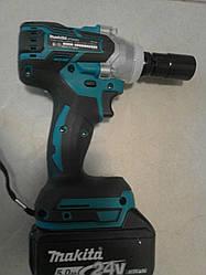 Ударный гайковерт аккумуляторный Makita DTW 285 с подсветкой ( 5Ah \24 V )