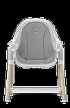 Стілець для годування 2 в 1  Lionelo MAYA WHITE, фото 5