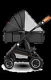 Универсальная коляска 2 в 1 Lionelo AMBER GREY GRAPHITE, фото 3
