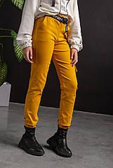 Подростковые брюки карго, джоггеры коттон, для девочек размеры 134-164