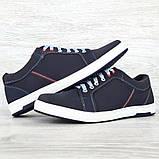 40 Розмір! Кроссовки мужские синего цвета (Ст-7сн), фото 2