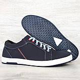 Кросівки чоловічі синього кольору (Ст-7сн), фото 6