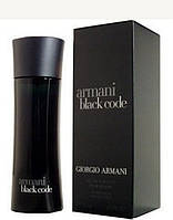 Giorgio Armani Black Code туалетная вода 125 ml. (Джорджио Армани Блэк Код), фото 1