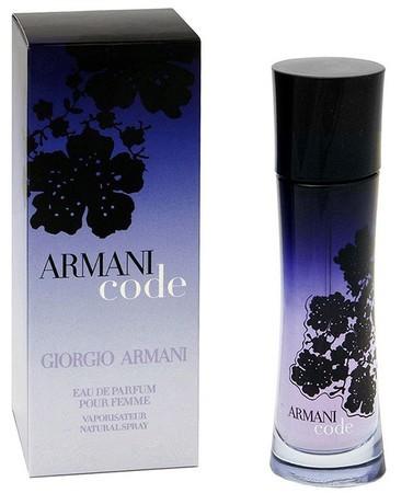 Giorgio Armani Code For Women парфюмированная вода 75 ml. (Джорджио Армани Код Вумен)