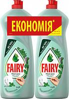 Средство для мытья посуды FAIRY Нежные руки Чайное дерево и Мята 2 л