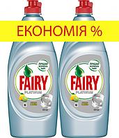 Средство для мытья посуды FAIRY Platinum Лимон и лайм 1300 мл