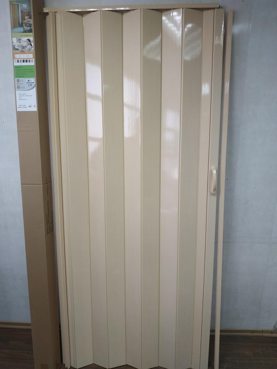 Двері гармошка глуха 810 х 2030 Сосна №2