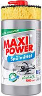 Засіб для миття посуду Maxi Power Platinum 1 л