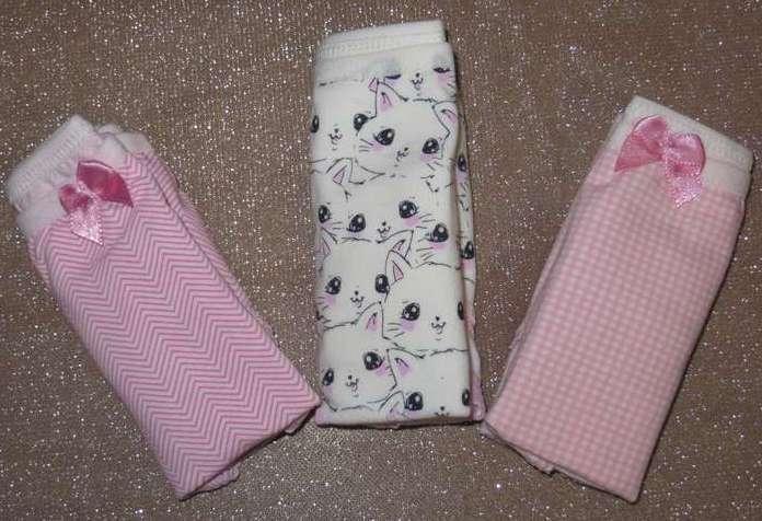 Набор 3 шт трусы детские для девочек Berrak котята