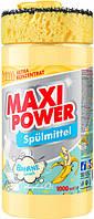 Засіб для миття посуду Maxi Power Банан 1 л