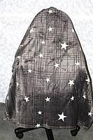 Покривало євро розміру зірки графитное