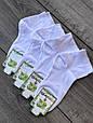 Жіночі шкарпетки Carabelli, до кісточки, короткі, 100% бамбук. Класичні, розмір 36-40, 12 пар \ уп, білі, фото 2