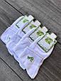 Жіночі шкарпетки Carabelli, до кісточки, короткі, 100% бамбук. Класичні, розмір 36-40, 12 пар \ уп, білі, фото 3