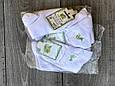 Жіночі шкарпетки Carabelli, до кісточки, короткі, 100% бамбук. Класичні, розмір 36-40, 12 пар \ уп, білі, фото 5