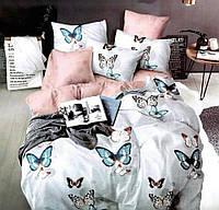 Семейное постельное белье Gold бабочки