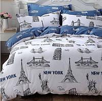 Семейное постельное белье Gold Нью-Йорк