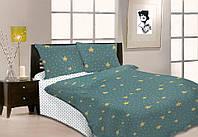 Семейное постельное белье Gold звёзды