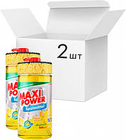 Засіб для миття посуду Maxi Power Лимон 2 л