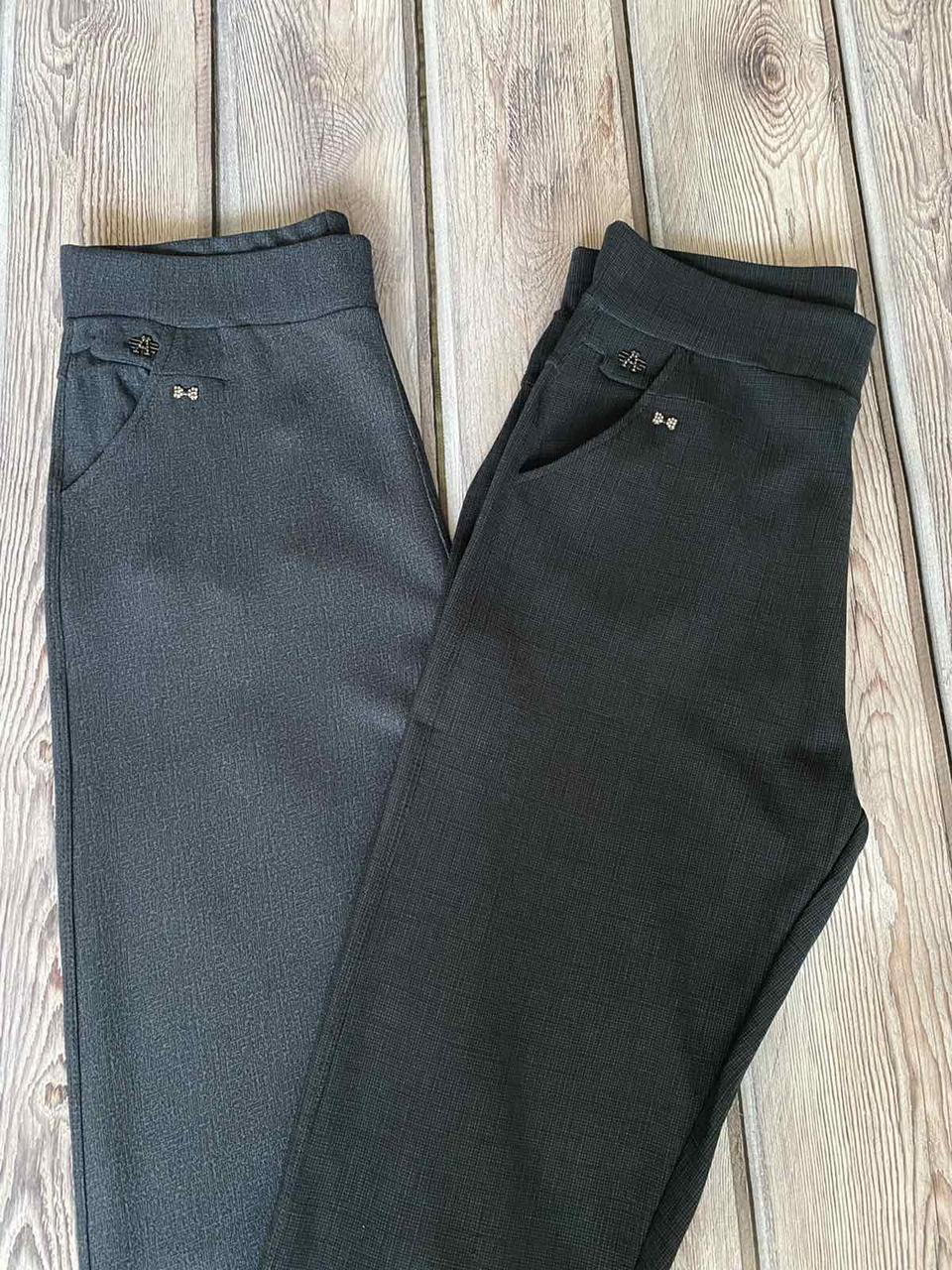 Штани жіночі класичні чорного і сірого кольору