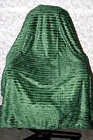 """Покрывало """"Шарпей"""" с узором зеленого окраса"""