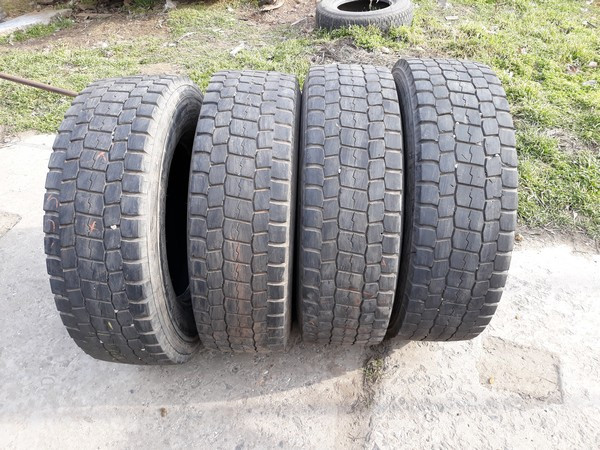 Шины б.у. 235.75.r17.5 Bridgestone M729 Бриджстоун. Резина бу для грузовиков и автобусов