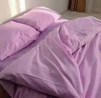 Полуторное постельное белье Ranforce светло-сиреневое