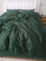 Постільна білизна Євро розміру преміум сегменту зелене