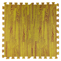Модульне підлогове покриття 600*600*10 мм жовте дерево, фото 1