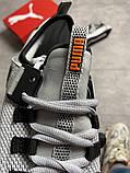 Чоловічі кросівки Puma Hybrid Grey White, фото 2