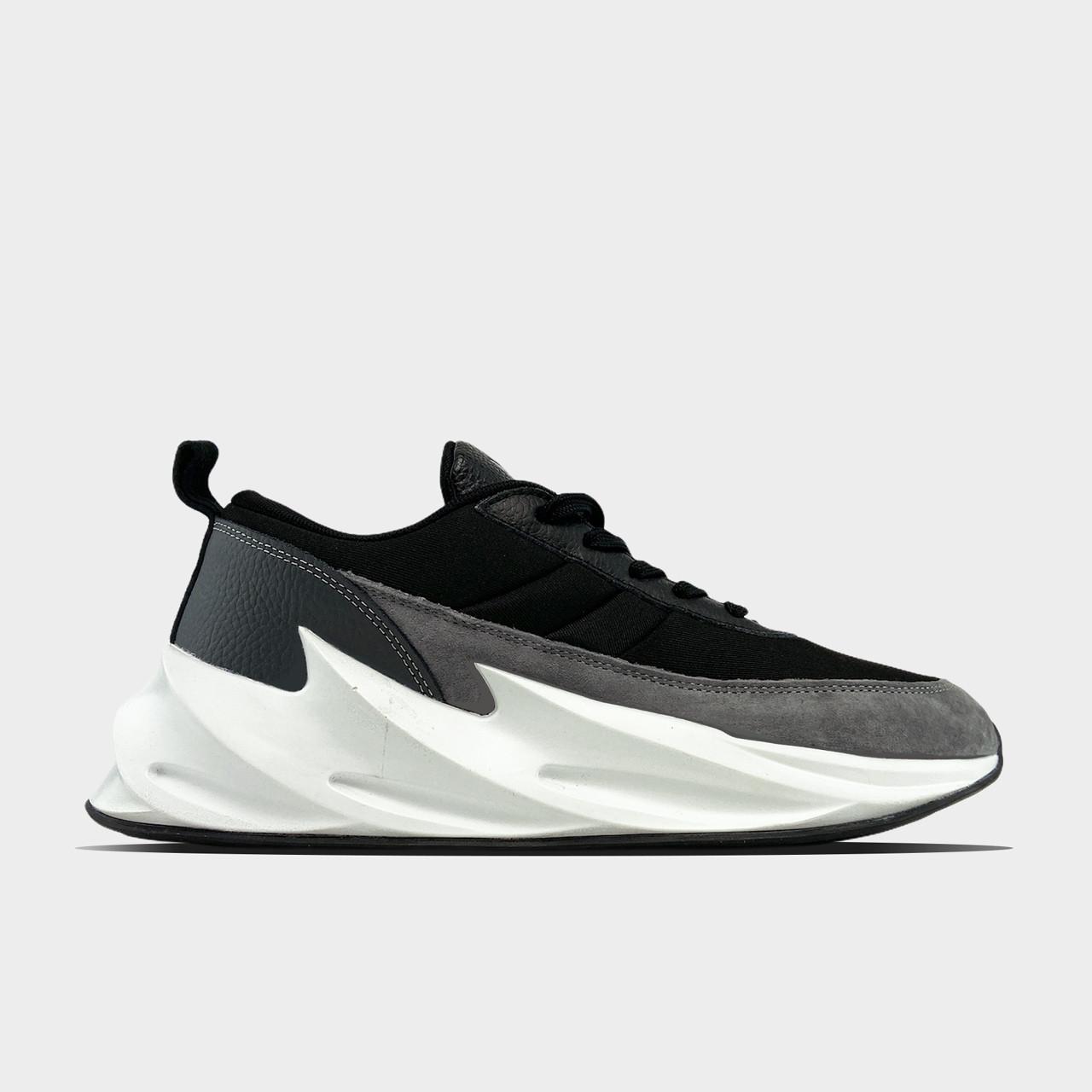 Чоловічі кросівки Adidas Sharks Black Gray