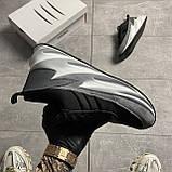 Чоловічі кросівки Adidas Sharks Black Gray, фото 3