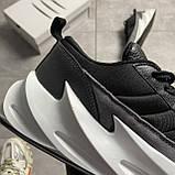 Чоловічі кросівки Adidas Sharks Black Gray, фото 4