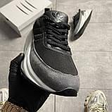 Чоловічі кросівки Adidas Sharks Black Gray, фото 5