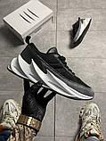Чоловічі кросівки Adidas Sharks Black Gray, фото 6