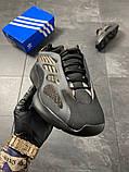 Чоловічі кросівки Adidas Yeezy Boost 700 V3 Black Brown, фото 5