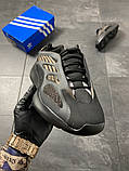 Мужские кроссовки Adidas Yeezy Boost 700 V3 Black Brown, фото 5