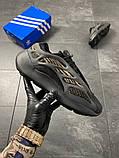 Чоловічі кросівки Adidas Yeezy Boost 700 V3 Black Brown, фото 6