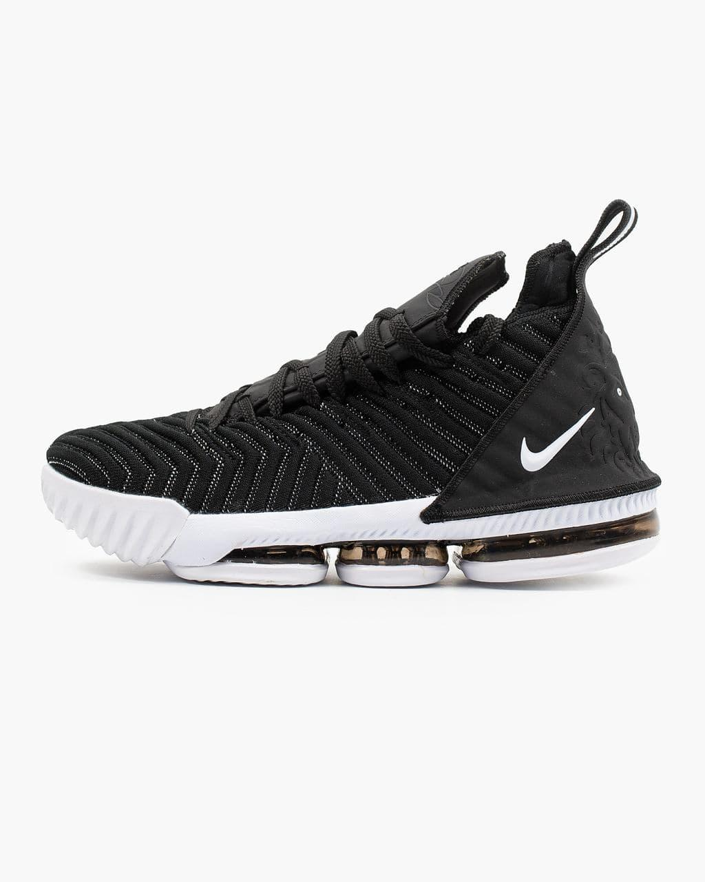 "Мужские кроссовки Nike LeBron 16 ""Black White"""