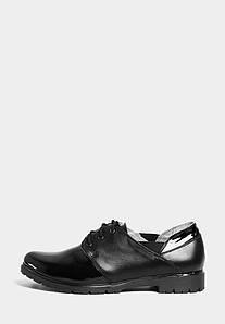 VM-Villomi Чорні шкіряні туфлі