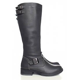 VM-Villomi Зимові чоботи сірого кольору з натуральної шкіри