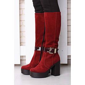 VM-Villomi Демісезонні чоботи кольору бордо