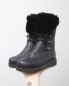 VM-Villomi Шкіряні зимові чобітки