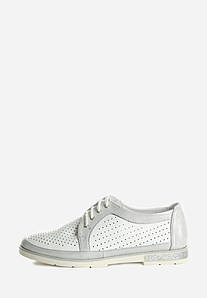 VM-Villomi Ніжні жіночі туфельки на низькому ходу з перфорацією