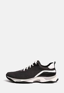 Мужские кроссовки сетка серая