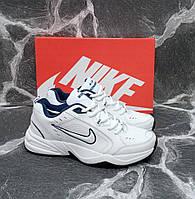 Кроссовки мужские белые кожаные Nike Air Monarch