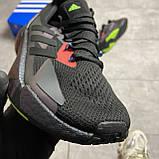 Кроссовки Adidas X9000L4 Black Violet, фото 4