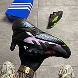 Кроссовки Adidas X9000L4 Black Violet, фото 6