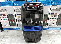 Колонка чемодан Акустическая система 6612 пульт + микрофон