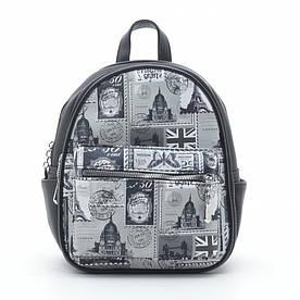 Рюкзак DS-649 black (марки)