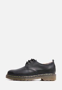 VM-Villomi Шкіряні чорні туфлі з ремінцем